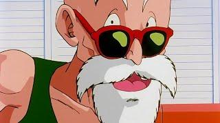Master Roshi Tries To Seduce Marron Dragon Ball Z (English Dub)