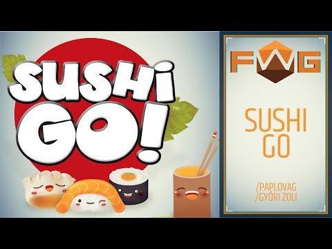 Sushi GO  | Hogy lehet ennyire stresszes egy partyjáték? (Paplovag, Győri Zoli) - Fun With Geeks