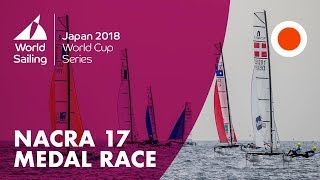 Nacra 17 Medal Race | World Cup Series: Enoshima, Japan 2018