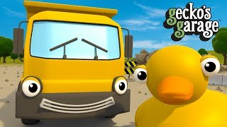 Dumper Truck Song For Kids | Gecko's Garage