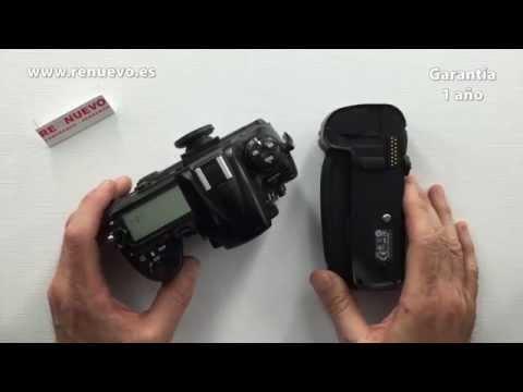 ¿Qué es un GRIP (o empuñadura) y cómo utilizarlo con una cámara fotográfica de segunda mano?