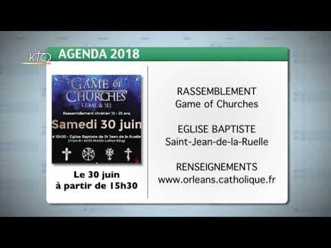 Agenda du 22 juin 2018