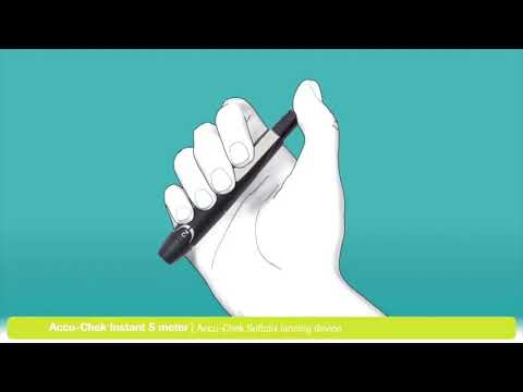 Accu-Chek Instant S Glucometer with Free 10 Test Strips