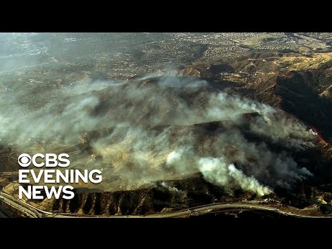 California wildfire death toll rises to 3 as blaze continues burning