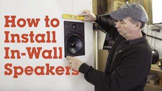 Installing in-wall speakers | Crutchfield video