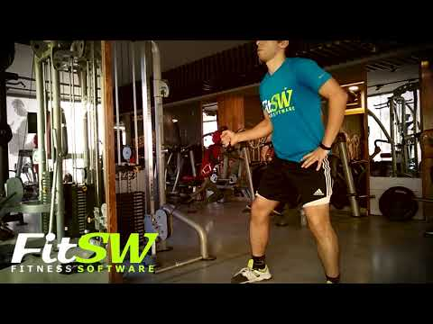 Cable Twisting Overhead Press - Shoulder Exercise Demo How-to