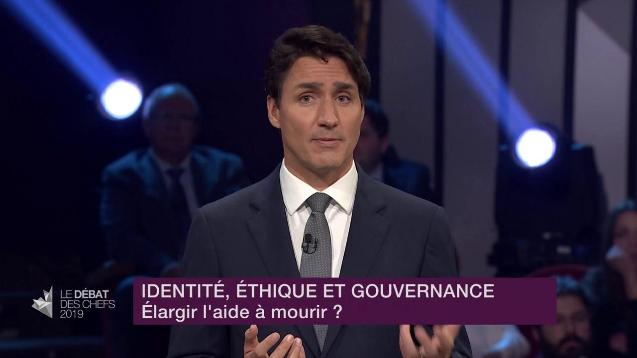 Justin Trudeau répond à la question d'un citoyen sur l'aide médicale à mourir