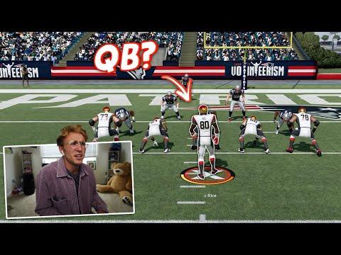 so we put Jerry Rice at QB…