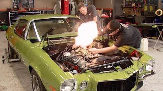 Firing Up a 396 Big Block in a 1970 Camaro RS/SS - MuscleCar S6, E12