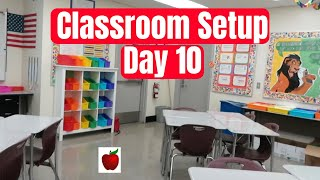 Classroom Setup Day 10 High School Teacher Vlog Class Tour
