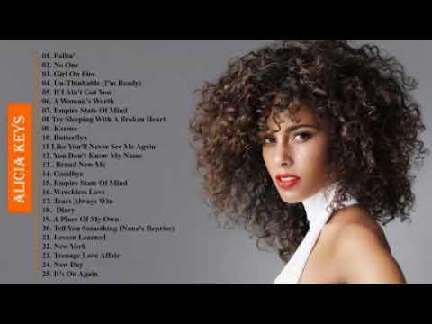 The Very Best Of Alicia Keys 2018 - Alicia Keys Greatest Hits Full Album (HD)