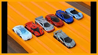 Lamborghini Veneno Vs 6 Hypercar Exotics - Hot Wheels