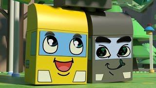 Чичиленд 🤖 Большой робот - Машинки-трансформеры - Мультики для детей