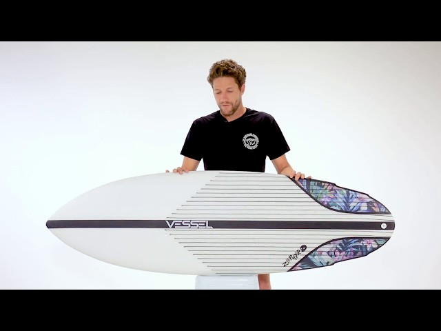 Vessel Zephyr Hybrid Surfboard Review  ft Beau Young