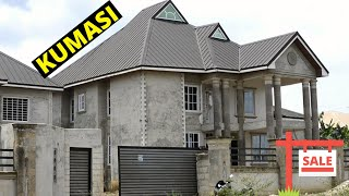 Building In Ghana   Cheap 8 Bedrooms House For Sale At Kumasi   $170,000