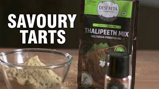 Thalipeeth Atta Tarts Recipe