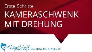 Gedrehter Kameraschwenk (AquaSoft DiaShow / Stages 10)