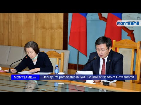 Deputy PM participates in SCO Council of Heads of Govt summit