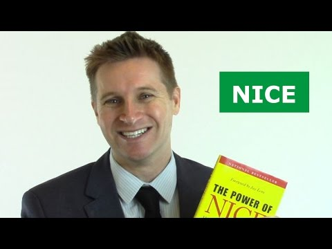 The Power of Nice: Book Review
