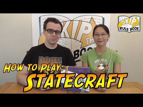 Statecraft - How to Play (Skip the Rulebook)