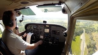 VFR flight to Mariposa-Yosemite (KMPI)