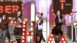 f(x) - LA chA TA, 에프엑스 - 라차타, Music Core 20090905