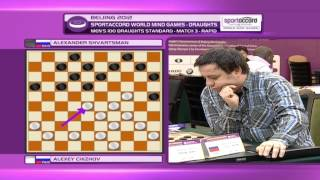 2012 - World Mind Games Draughts - Day 7
