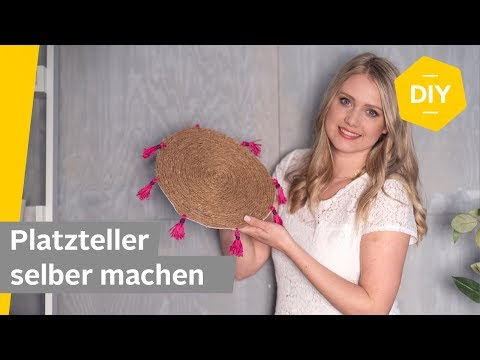 DIY: Platzteller im Boho Look selber machen | Roombeez – powered by OTTO