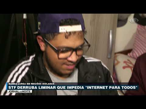STF derruba liminar que impedia banda larga em todo Brasil