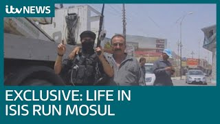 Exclusive video: Life inside the ISIS-controlled Mosul