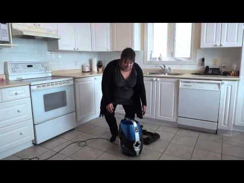 Water Vacuum Cleaner - Sirena In Action