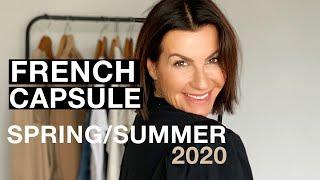 12 SPRING SUMMER 2020 ESSENTIALS FRENCH CAPSULE  I  Parisian Chic