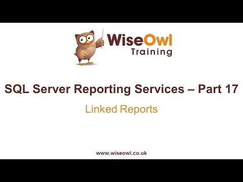Reporting Services (SSRS) Part 17 - Drill Through Reports