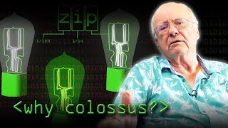 Why Build Colossus? (Bill Tutte) - Computerphile