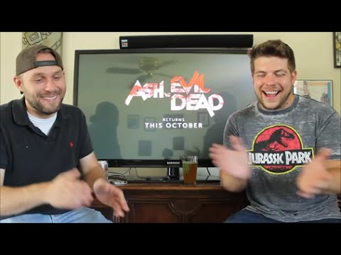 Download Ash Vs Evil Dead Trailer Reaction SEASON 2 HD Mp4 3GP Video and MP3