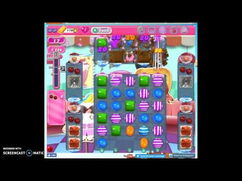 Candy Crush Level 1449 help w/audio tips, hints, tricks