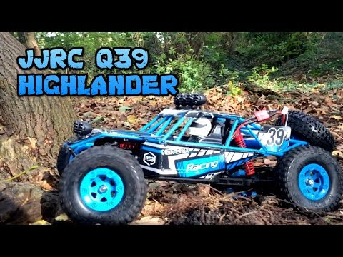 JJRC Q39 HIGHLANDER 1:12 4WD RC Desert Truck REVIEW