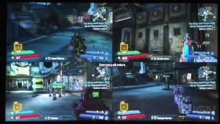 Gameplay - Co-op a 4 giocatori in split-screen