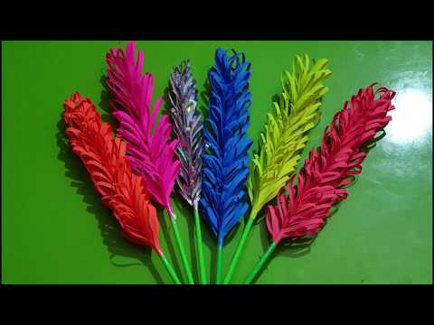 How to create flower sticks in a very easy way!