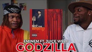 EMINEM - GODZILLA ft. JUICE WRLD | REACTION