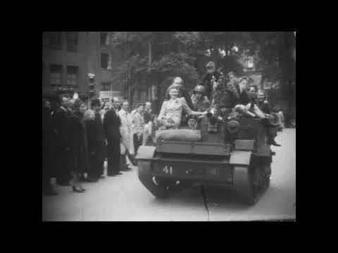De eerste Canadezen in Amsterdam