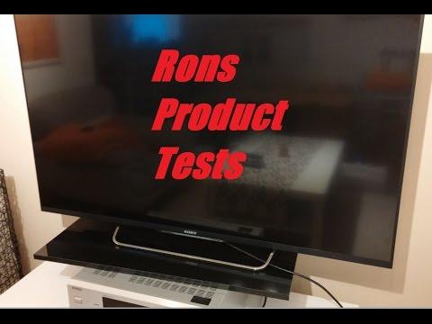 Sony BRAVIA KDL 50W805 B Test Review Deutsch Gaming Vergleich 50 Zoll 46 Zoll Smart TV PS4 Kodi