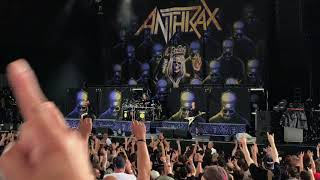 ANTHRAX Caught In A Mosh/Got The Time LIVE