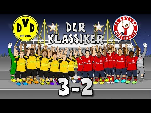 🌟DER KLASSIKER! 3-2🌟 Borussia Dortmund Vs Bayern Munich (Goals Highlights 2018) Mp3