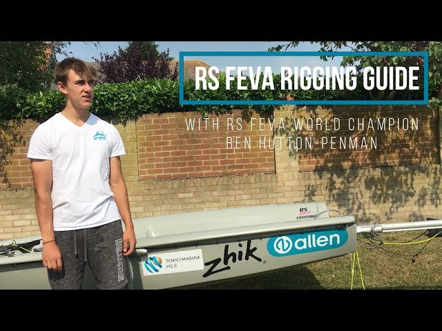 RS Feva Rigging Guide With World Champion