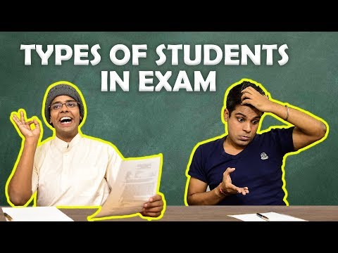 Types of Students in Exam | The Half-Ticket Shows