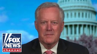 Mark Meadows: Biden's spending is about 'buying votes'
