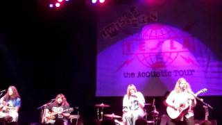Tesla-A Lot To Lose(acoustic)Dallas