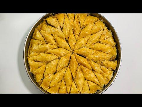 Bakllava 100% Tradicionale Shqiptare,si nga duart e gjyshes - Traditional Baklava Recipe