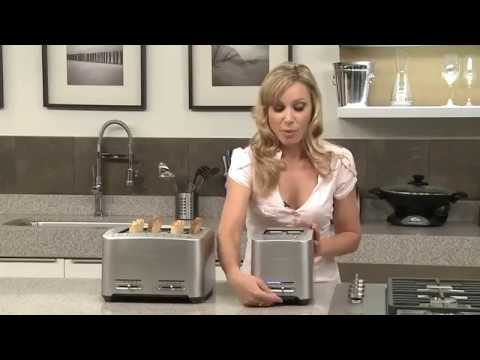 , Breville BTA820XL Die-Cast 2-Slice Smart Toaster, 1.2-Inch Wide x 5.2-Inch Deep